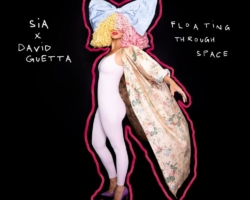 Sia y David Guettasorprenden con el estreno de 'Floating Through Space'