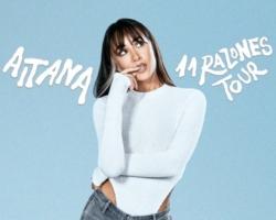 La gira de Aitana, «11 Razones Tour» pasará por Gran Canaria y Tenerife