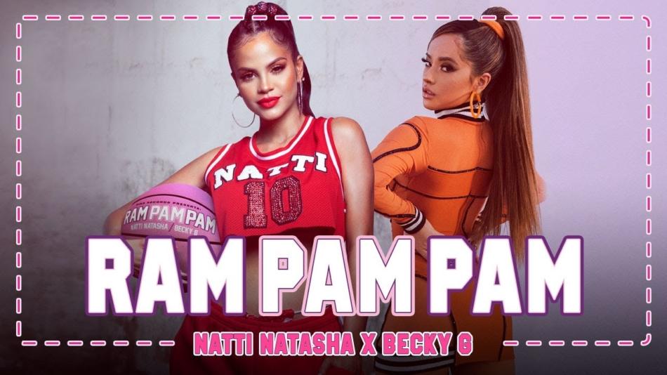 Natti Natasha y Becky G rompen con su «Ram Pam Pam»