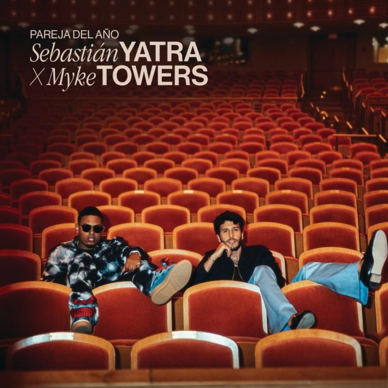 Sebastian yatra y Myke Towers sorprenden con «Pareja del año»