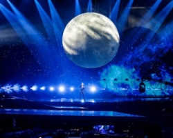 Primer ensayo de Blas Cantó en el Festival de Eurovisión 2021
