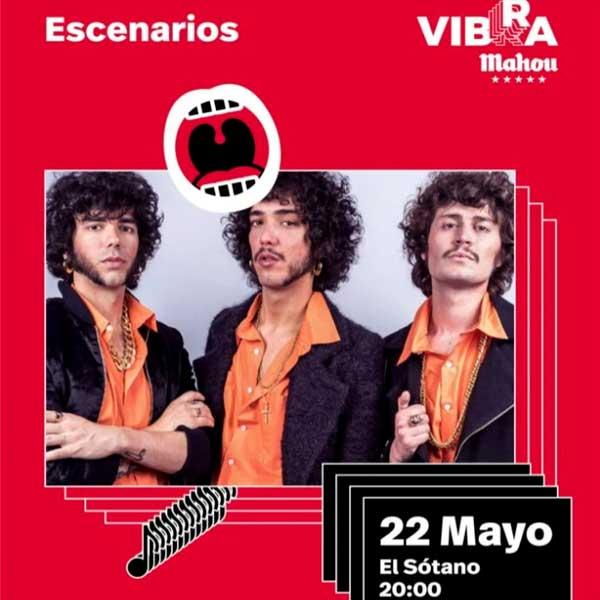 Los Vinagres, Ricardo Lezón de McEnroe, Vero Romero de OT… este mes en Vibra Mahou