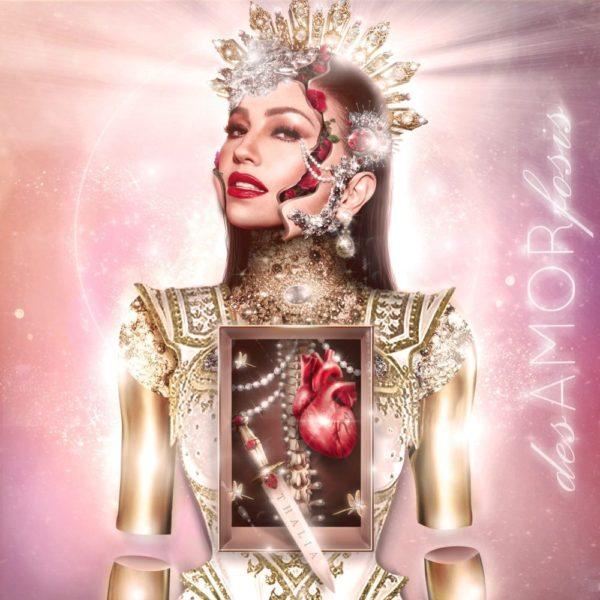 Thalía publicará el álbum 'desAMORfosis' el próximo 14 de mayo