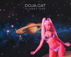 Doja Cat anuncia el contenido de su nuevo álbum, 'Planet Her'.