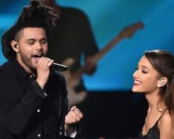 Ariana Grande y The Weeknd interpretan 'off the table' por primera vez en directo