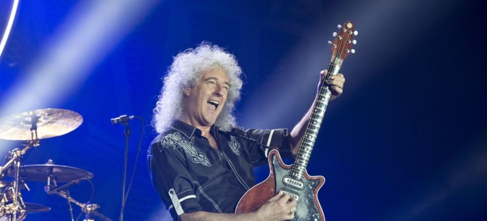 Brian May reedita su primer disco en solitario casi 30 años después
