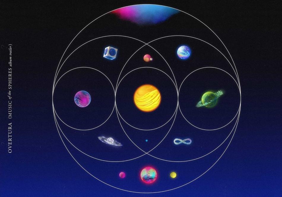 Coldplay estrena 'Coloratura' como siguiente avance de su próximo disco