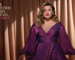 Kelly Clarkson anuncia su segundo disco navideño, 'When Christmas Comes Around…'