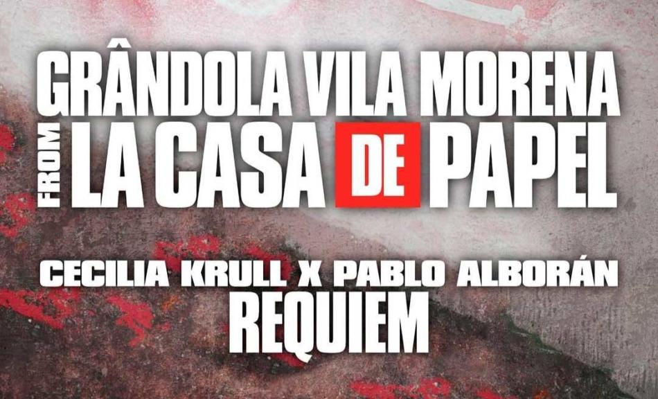 Cecilia Krull y Pablo Alborán llegan a La Casa de Papel con el tema 'Grandola Vila Morena'
