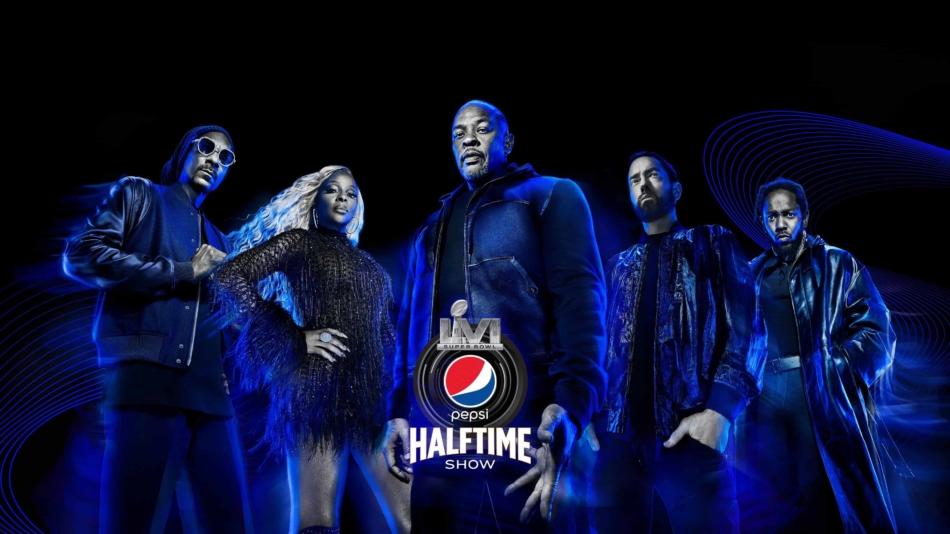 Kendrick Lamar, Eminem, Mary J. Blige, Dr. Dre y Snoop Dogg actuarán en el intermedio de la Super Bowl 2022